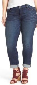 KUT from the Kloth KATY boyfriend jeans plus size